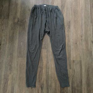 Mimobee Loungy Leggings Loose Pants in Grey